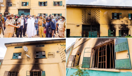 FG to grant amnesty to inmates who willingly return to prison after they escaped during the Imo jailbreak