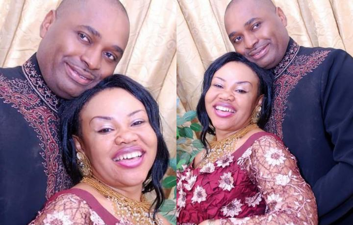 """""""May God make me the perfect husband for you"""" – Actor, Kenneth Okonkwo pens touching note his wife on her birthday"""