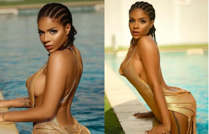 Reality star, Venita Akpofure gets wet in new sexy photos