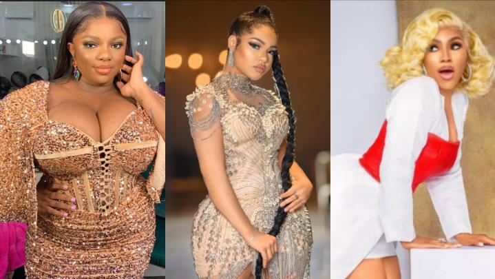 Who is the most beautiful among these 3 BBNaija female celebrities?