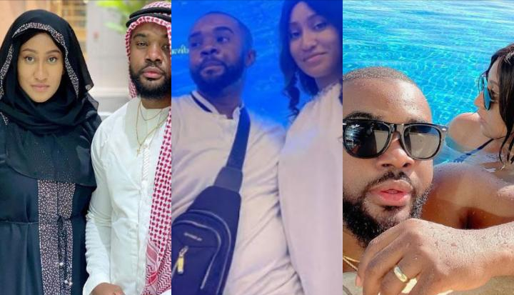 'You're selfish' – William Uchemba slammed for bragging about how his wife stopped her career to help him build his dreams