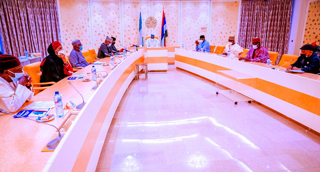 Buhari inaugurates committee to lift 100 million Nigerians out of poverty