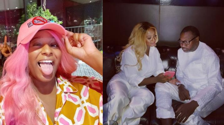 """""""I share messages from guys with my dad"""" – DJ Cuppy reveals"""