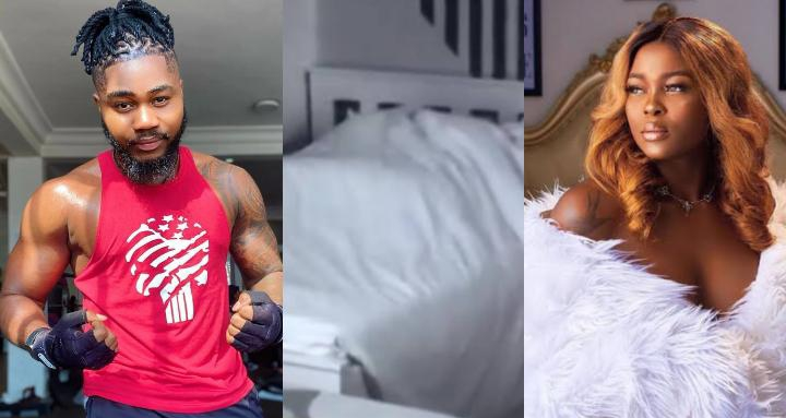 """""""A perfect gentleman will never kiss and tell"""" – Praise shares controversial post after Ka3na calls him a '5 seconds' man on bed"""