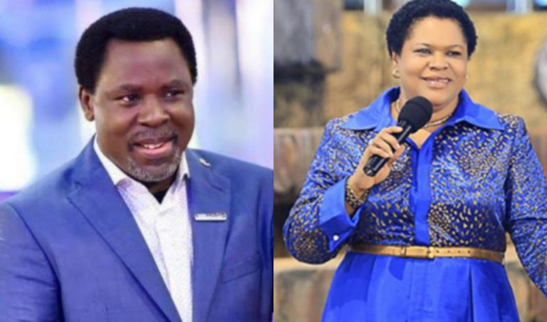 TB Joshua's wife succeeds him as the new head of the Synagogue Church of All Nations