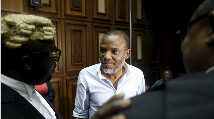 Nnamdi Kanu's Trial: Lawyers Denied Access Into Court Room (Video)