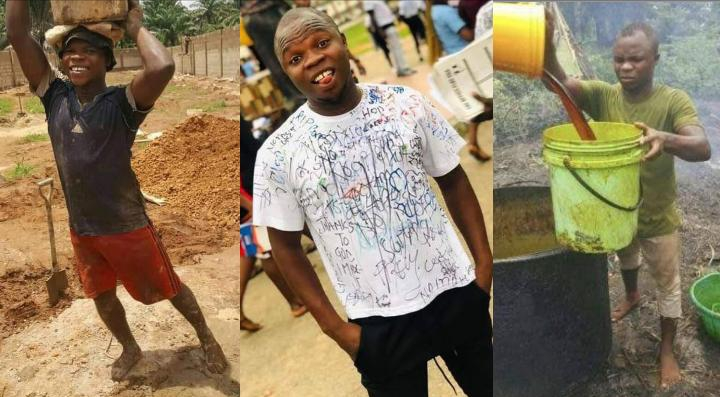 """""""The suffering boy has graduated""""- Man who did menial jobs to sponsor his education writes"""
