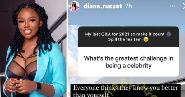 Reality TV star, Diane Russet, reveals the greatest challenge of being a  celebrity – Talk of Naija