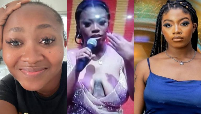 """""""If the size of men's penis is as visible as women's breast, the world would be a better place"""" Mary Njoku slams those bodyshaming BBNaija's Angel for the shape of her breast"""
