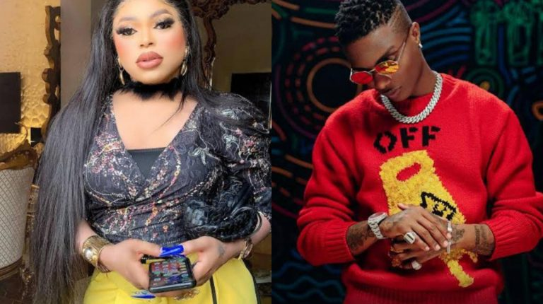 Reactions as Bobrisky reveals he is dying to speak with Wizkid and he loves him so much