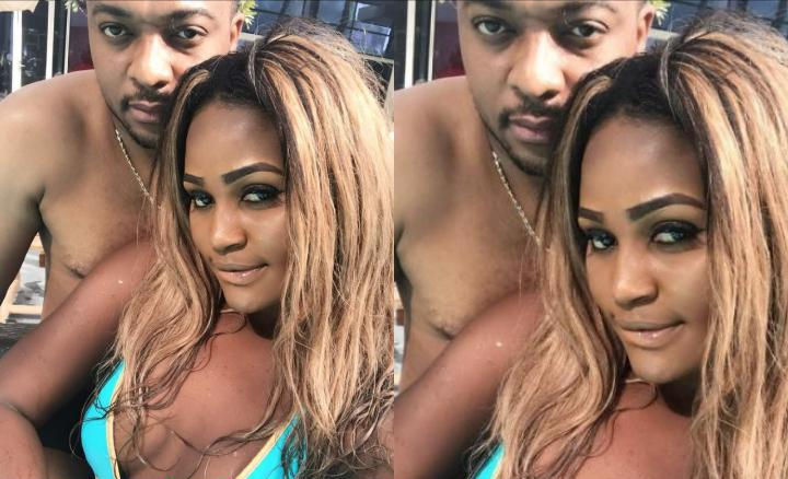 """""""Love is a beautiful thing"""" – Chizzy Alichi says, as she shares lovely photo with her husband"""