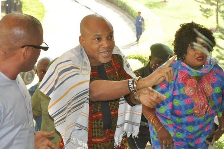 Nnamdi Kanu Supporters Arrested At Abuja Federal High Court
