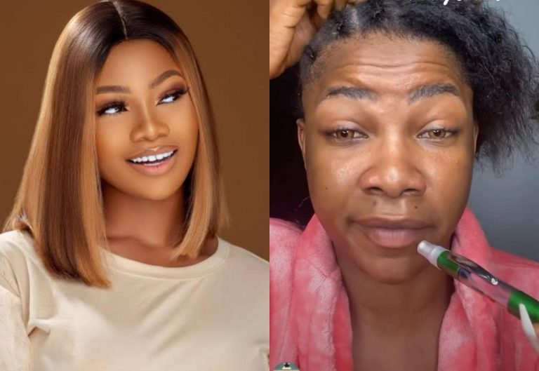 Fans react to how different Tacha looks without makeup (Photo)