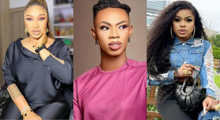 'Bobrisky will come for you'- Fans react as Tonto Dikeh reached out to James Brown and asked for his number