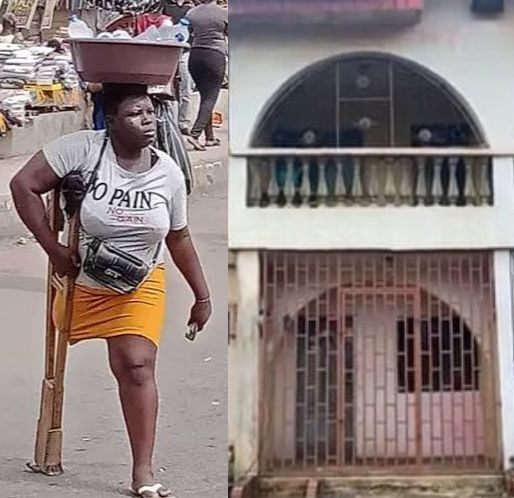 Amputee Hawker, Mary Daniel Acquires N17.5M House In Lagos (Photos)