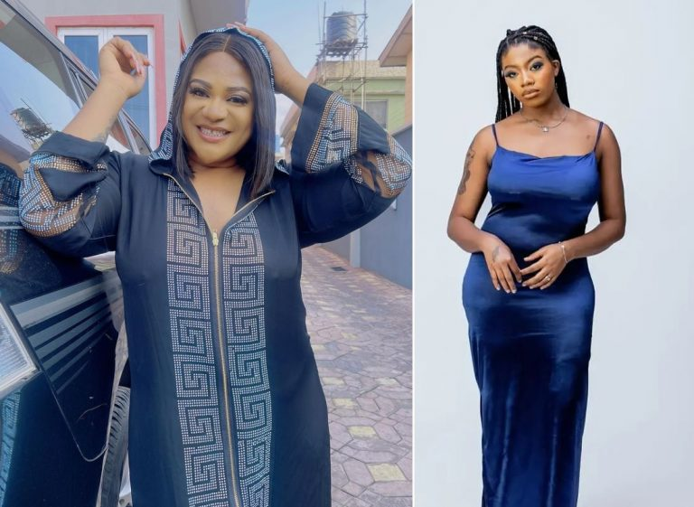 See What Nkechi Blessing Sunday did to defend BBNaija's Angel who has been shamed for the shape of her breasts (PHOTOS)