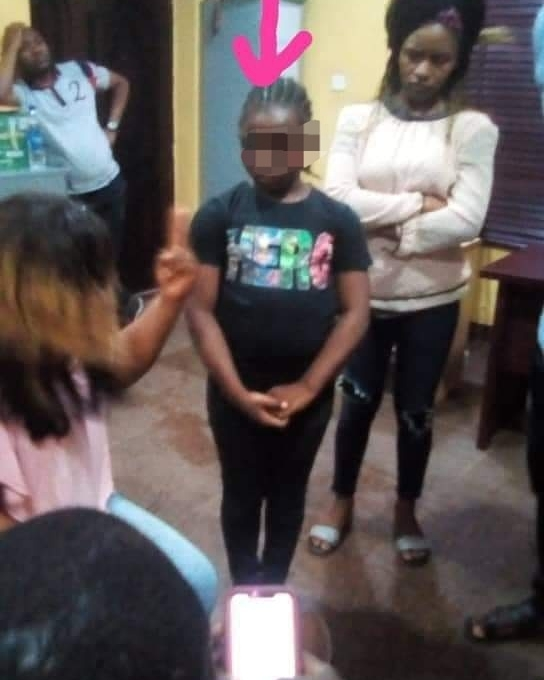 9-year-old girl identified as the person who set Ebeano supermarket on fire (photo/video)
