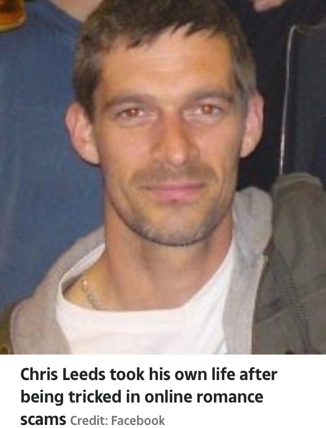 Single Dad Commits Suicide After Being Tricked Into Sending £500 To Woman (PHOTOS)