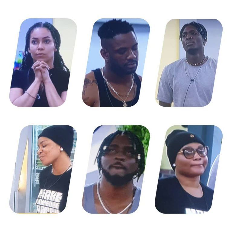 BBNaija: Pere, Maria, Sammie, JMK, Queen and Cross nominated for possible eviction this week