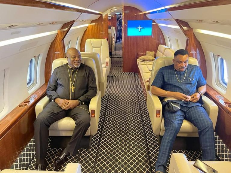 'Children of politicians fly jets purchased with our tax money to buy suya in Kano but it's not an issue' – Bishop who shared photos of a pastor in his new private jet replies crtics