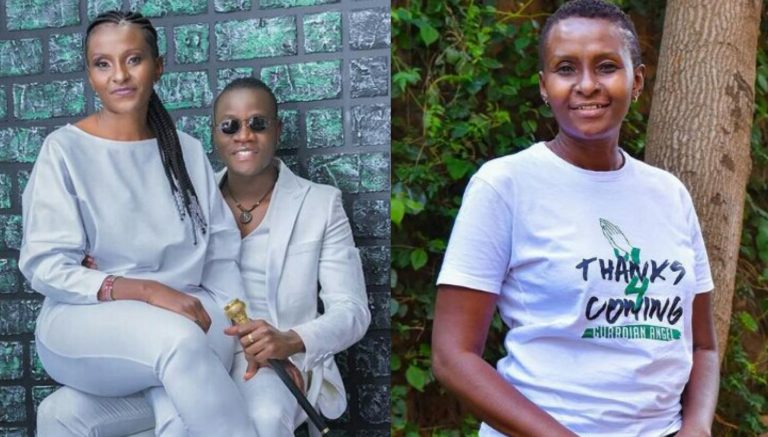"""""""If I had listened to their noises I would have lost a special gift"""" – Kenyan Gospel singer, 31, writes as he shares photo with his 51-year-old fiancé"""