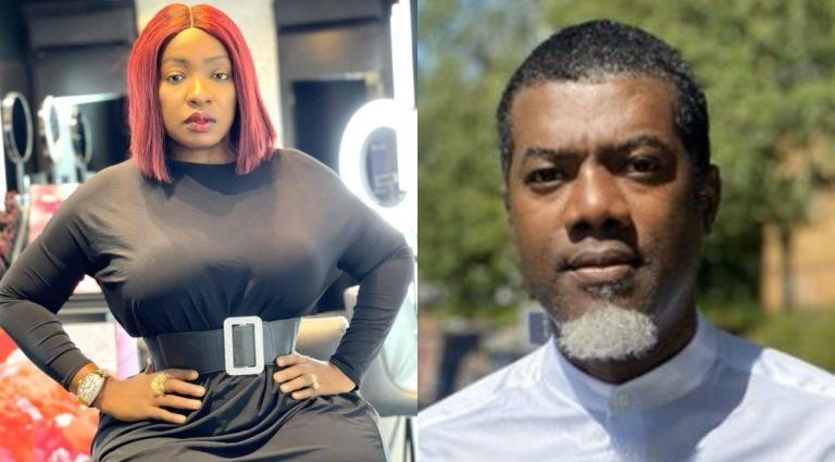 """""""If it makes you happy buy it"""" – Anita Joseph reacts as Reno Omokri's advice against buying iPhone 13, advising fans to use the money for investment"""