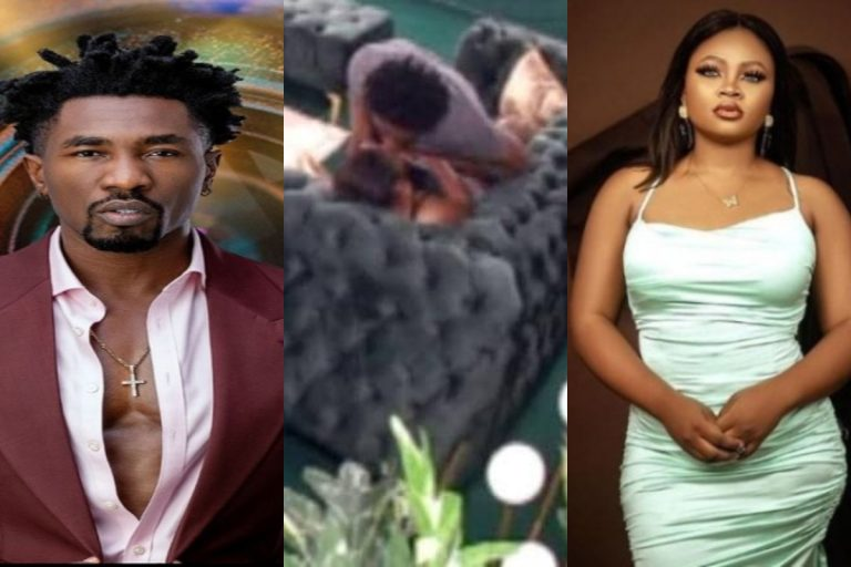 """""""I didn't have sex with Tega. I kissed and romanced but there was no penetration"""" – BBNaija's Boma says"""