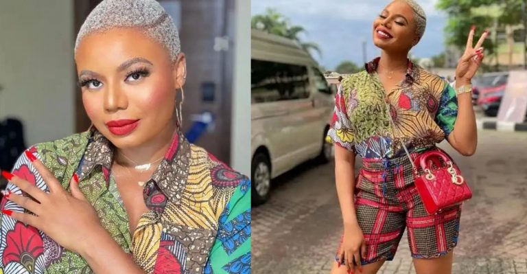 Ini Edo, Chizzy Alichi and other celebrities go gaga as Nancy Isime flaunts her beauty in recent photos