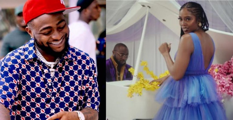 'I can't control myself whenever it comes on' – Davido gushes over Tiwa Savage's hit song, Somebody's Son