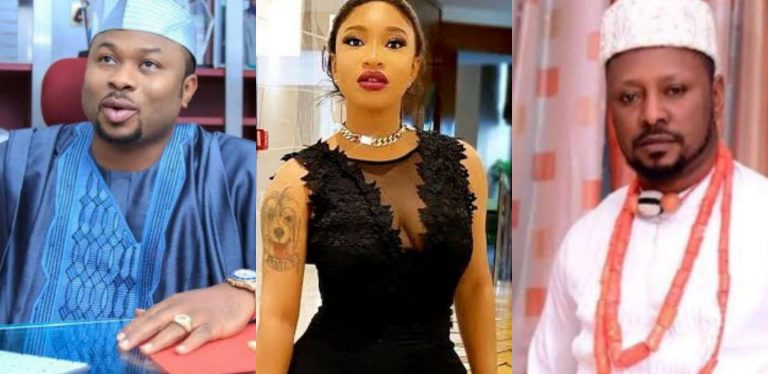 """""""You rubbished the first man you married, you think you can play same game with me"""" – Prince Kpokpogri blasts Tonto Dikeh (Video)"""