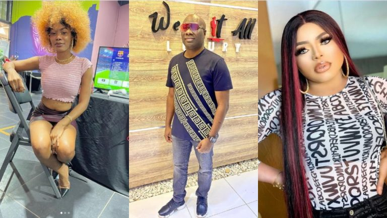 Bobrisky's ex-PA, Kyme Oye slides into Mompha's DM to apologise