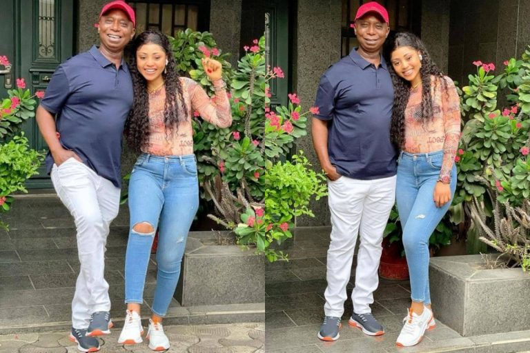 """""""I'm obsessed with his legs"""" – Regina Daniels gushes over her billionaire husband, Ned Nwoko"""