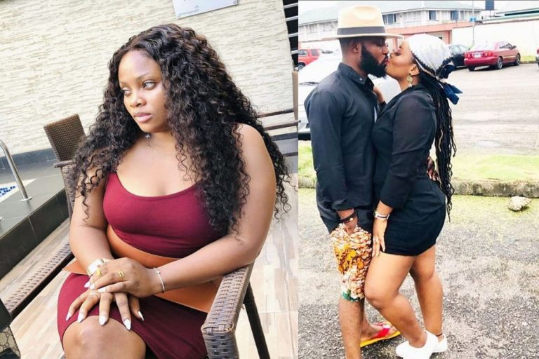 Tega finally reunite with her husband as they share a passionate kiss (VIDEO)