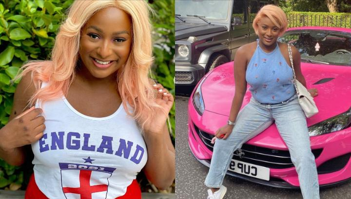 """""""Money is not everything but it's better to cry in a Ferrari than on a bicycle in the cold"""" – Billionaire daughter, DJ Cuppy (Video)"""