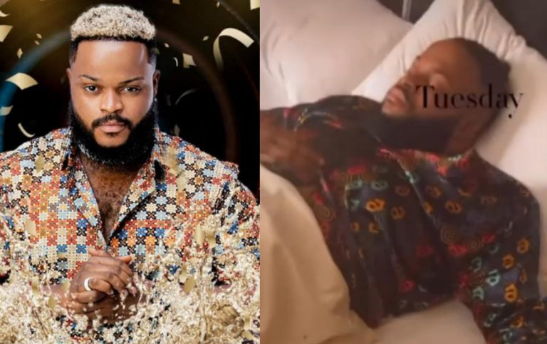 """""""Get well soon champ"""" – Fans show concern as Whitemoney gets hospitalized, 9 days after winning BBNaija season 6 show (video)"""
