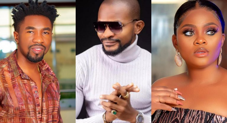 """""""You go soon chop another slap"""" – Tega tells Uche Maduagwu for telling Boma to be humble and accept his mistake"""