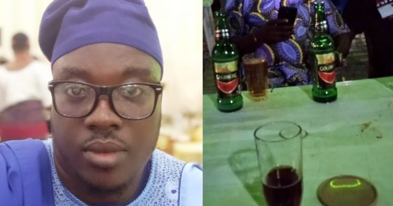 Man narrates encounter with a group of friends who poisoned their friend's drink after he left to pee