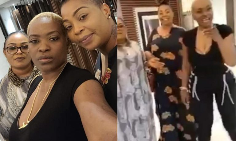 Pero Adeniyi reacts to being addressed as 'Tuface's first wife' by his family while hanging out in Abuja (video)